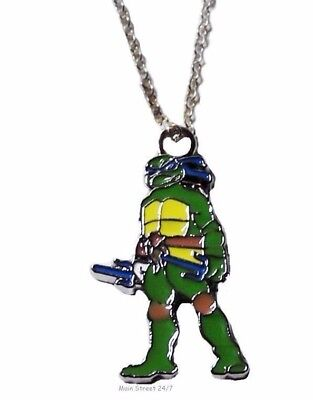 Teenage Mutant Ninja Turtles LEONARDO (Blue Mask) Character PENDANT on 17
