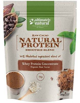 Pure Protein Blend (100% Natural Organic Raw Organic Cacao Whey Protein Powder Pure Chocolate Blend )