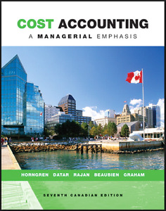 MSVU Cost Accounting Text 7th Canadian Edition