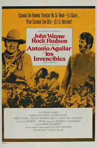 The-Undefeated-1969-John-Wayne-Rock-Hudson-movie-poster-print-4