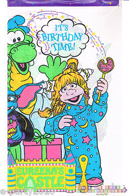 EUREEKA'S CASTLE PAPER TABLE COVER ~ Vintage Birthday - Nickelodeon Party Supplies