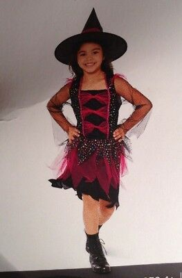 Star Witch Youth Costume Sz L (10-12) Halloween Cosplay Dress Up