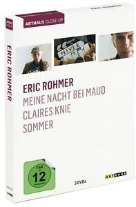 Eric Rohmer Arthaus Close-Up 3x DVD Meine Nacht bei Maud/ Claires Knie/Sommer - Deutschland - Eric Rohmer Arthaus Close-Up 3x DVD Meine Nacht bei Maud/ Claires Knie/Sommer - Deutschland