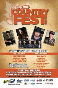 2 VIP CountryFest Tickets which is SOLD OUT!