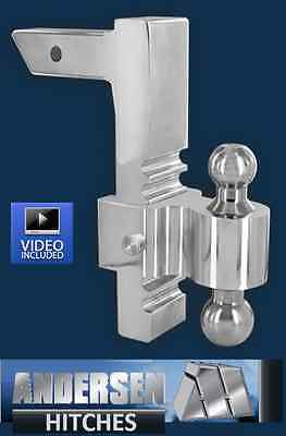 - Andersen 3413 Aluminum Adjustable Rapid Hitch Ball Mount 10