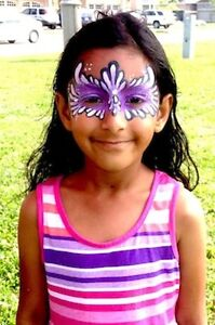 !QUALITY FACE PAINTING  GLITTER TATTOOS HENNA NAIL ART MORE ! Kitchener / Waterloo Kitchener Area image 2