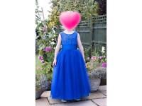 Flower girl/Bridesmaid dress In Royal Blue Age 13