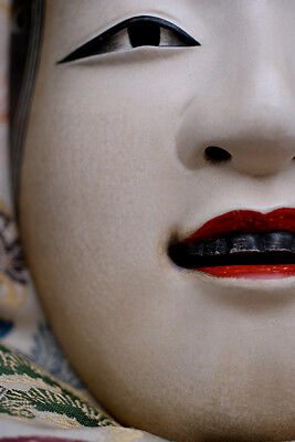 Noh Mask Japanese Ko-omote Hannya Okina Nogaku New