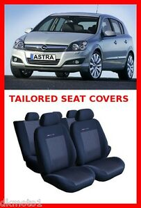 Tailored seat covers for VAUXHALL ASTRA H 2004-2009  full set grey3