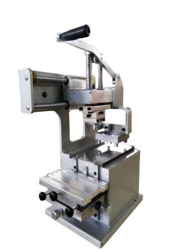 "Manual 1 Color Pad Printing Machine With Φ2.76"" Oil Cup Print Date, DIY LOGO New"