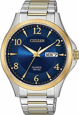 New Citizen Men's Japanese-Quartz Stainless-Steel StrapTwo Tone Watch BF2005-54L