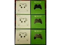 *Sealed Box* Xbox One Wireless Controller. White + Black Available