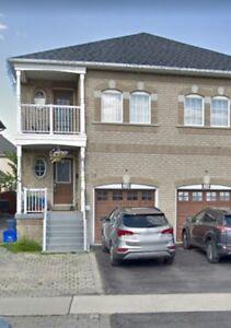 Beautiful 4 Bedroom Semi Home for Rent in Vaughan!