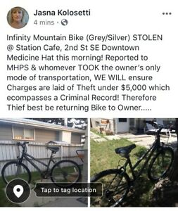 STOLEN BIKE, SEPT 10th!