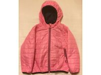 Girl's Next Pink Coat - Size 5-6 years