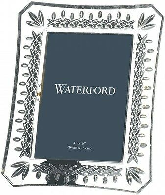 """WATERFORD CRYSTAL LISMORE PICTURE FRAME 4 x 6"""" - BRAND NEW/GIFT BOXED"""