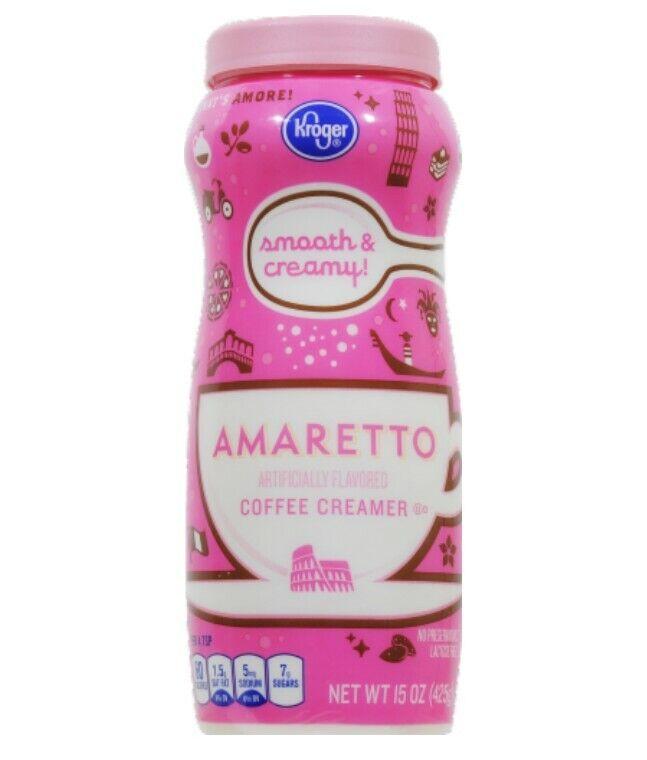 Kroger Amaretto Non Dairy Creamer