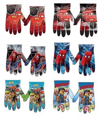 erman Handschuhe Kinderhandschuhe Fingerhandschuhe Kinder (Spider-man-handschuhe)