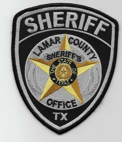 Lamar County Sheriff State Texas TX Police