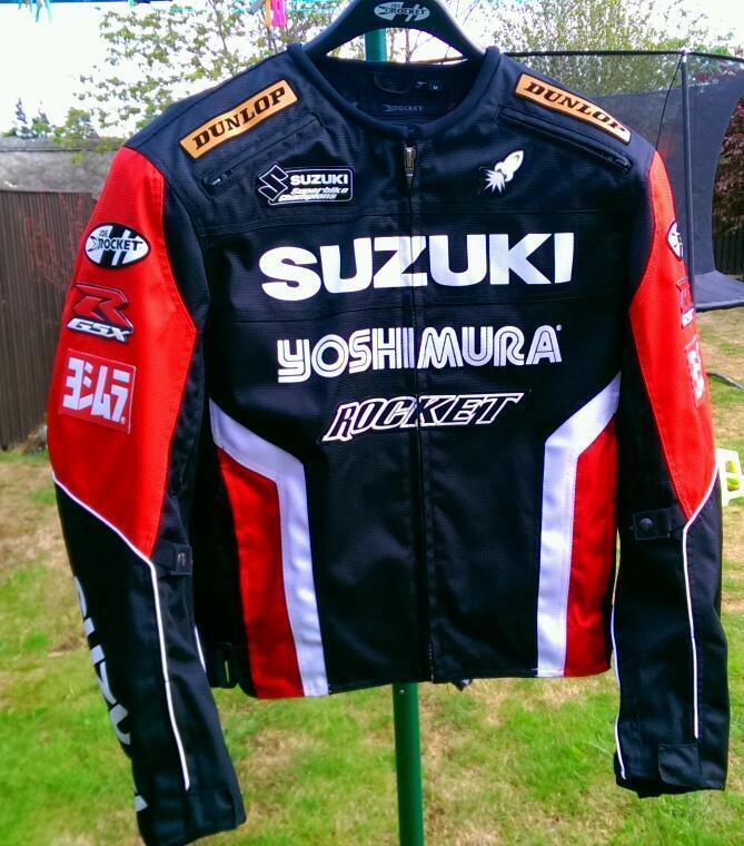 Joe Rocket Suzuki Textile Jacket