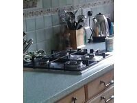 NEFF 4 Ring Gas Stainless Steel Hob