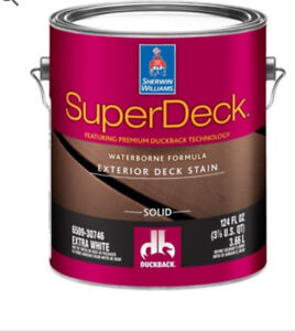 Premium Deck Paint - discounted!!