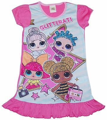 Lol Surprise Mädchen Langarm Pyjama Schlafanzug Satz - Größen 4 bis 10 Jahre (Mädchen Schlafanzug Größe 10)