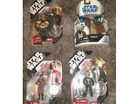 Boxed rare star wars figures