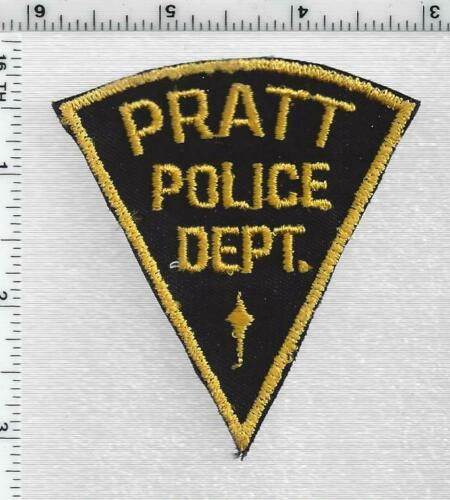 Pratt Police (Kansas) 1st Issue Shoulder Patch