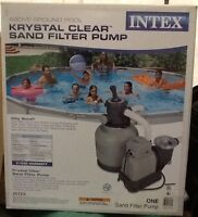 Intex Krystal Clear™ 2800 GPH Sand Filter Pump