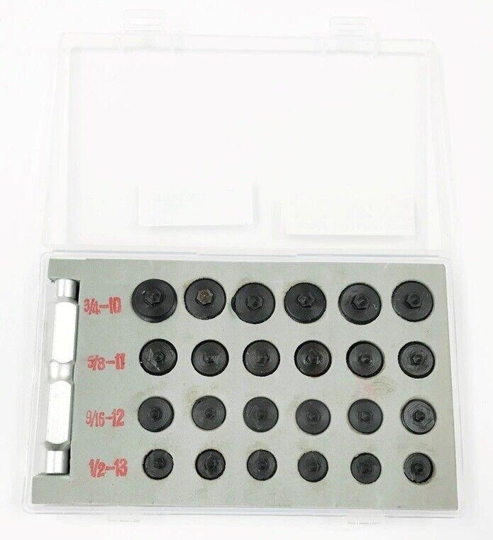 25 PIECE 1/2-13, 5/8-11, 3/4-10, 9/16-12 TRANSFER SCREW SET (3601-0513)