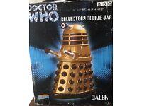 Dr Who DALEK large cookie jar biscuit barrel boxed
