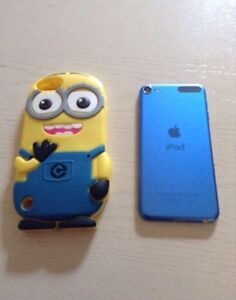 Blue iPod Touch 6 16G with Warranty