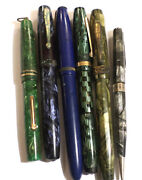 Vintage Fountain Pen Lot