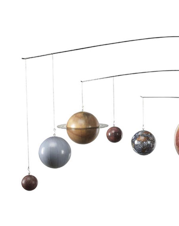 Solar System Planet Globe Mobile Hanging Astronomy Decor