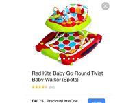 BABY WALKER BOYS GIRLS RED KITE