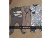 Baby boy clothes various sizes available