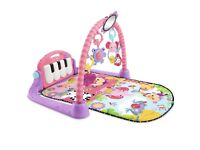 Fisher price kick and play piano gym mat - pink
