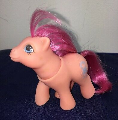 Vintage My Little Pony Baby Sweet Stuff Peek-A-Boo Ponies 1987 G1 MLP Head Turns