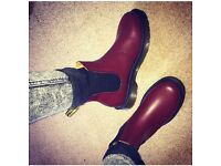 Cherry Red Dr Martens size 5