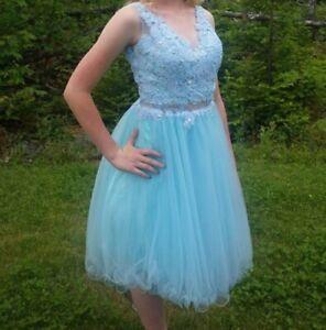 Beautiful semi prom dress