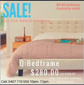 Mattress Sale-Tax Time! End of Financial Year SALE! Q,K,D,S and Bases Clayton Monash Area Preview