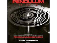 2x Pendulum @ Printworks, London Tickets