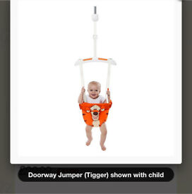 Tigger door baby bouncer