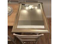 Gold mirror £6