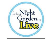 In the night garden tickets