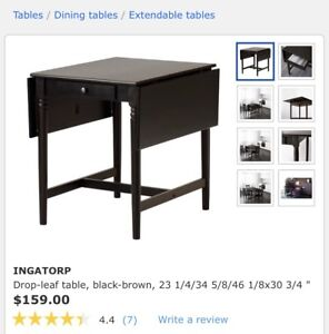 Ikea Table ajustable for 2 or for 6