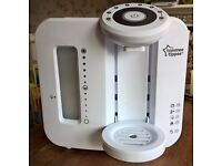 Tommee Tippee Perfect Prep Machine and microwave sterilisers