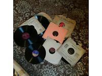 Vintage Joblot Vinyl Records All Sizes Available 45 +