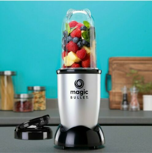 Magic Bullet - Blender - Silver 4 pieces Set